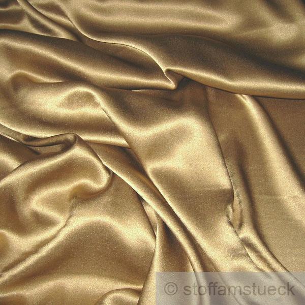 stoff seide lycra satin bronze fliessend stretch elastisch. Black Bedroom Furniture Sets. Home Design Ideas