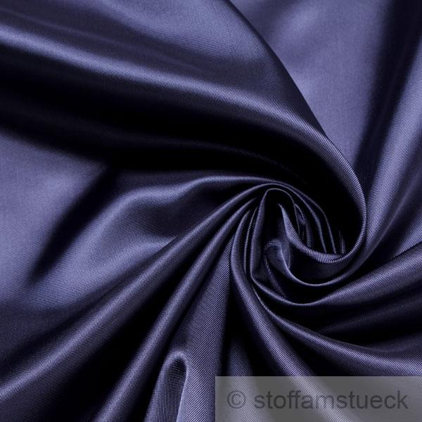 stoff viskose taft dunkelblau weich flie end futterstoff dunkelbraun kaufen bei. Black Bedroom Furniture Sets. Home Design Ideas