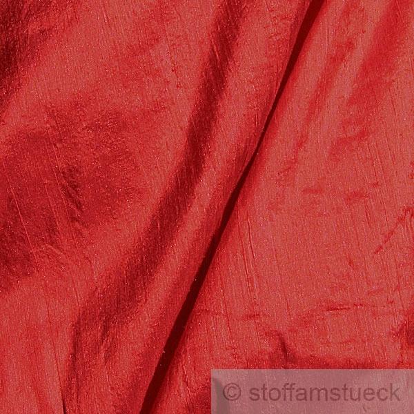 stoff shantung seide leinwand rot reine seide edel ebay. Black Bedroom Furniture Sets. Home Design Ideas