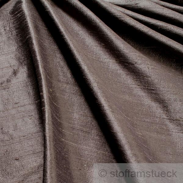 stoff dupionseide anthrazit titan reine seide edel kaufen. Black Bedroom Furniture Sets. Home Design Ideas