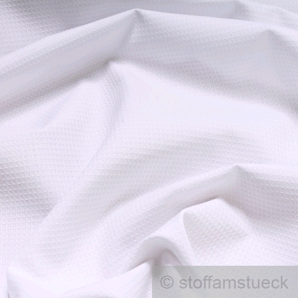 stoff polyester baumwolle piqu wei pikee weiss shirt. Black Bedroom Furniture Sets. Home Design Ideas
