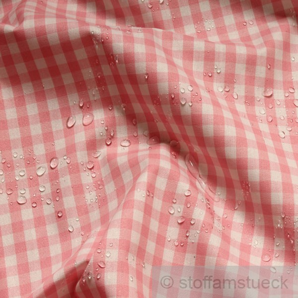 stoff baumwolle acryl vichy karo gro rosa wei tischdecke wachstuch ebay. Black Bedroom Furniture Sets. Home Design Ideas