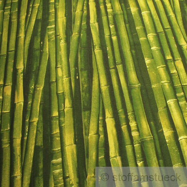 stoff baumwolle polyester bambus bambusstange fotodruck. Black Bedroom Furniture Sets. Home Design Ideas