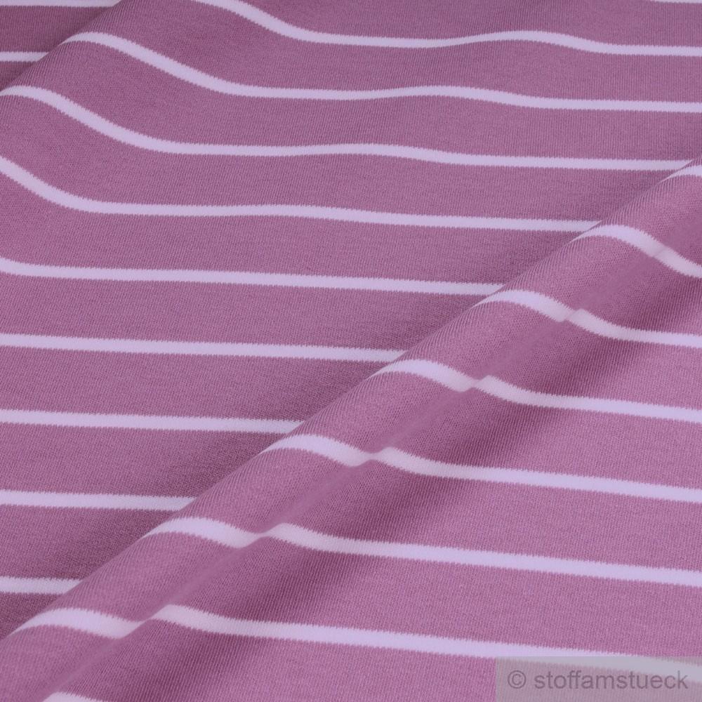 baumwolle interlock jersey streifen lavendel wei kba gots besondere eigenschaften gots kba. Black Bedroom Furniture Sets. Home Design Ideas