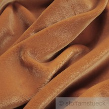Polyester Samt orange