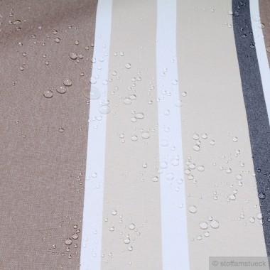 baumwolle acryl leinwand streifen beige braun muster streifen. Black Bedroom Furniture Sets. Home Design Ideas