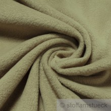 Polyester Fleece beige